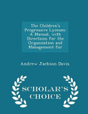 The Children s Progressive Lyceum