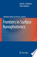 Frontiers In Surface Nanophotonics Book PDF