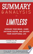 Summary   Analysis of Limitless