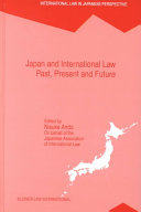 Japan and International Law