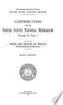 Trees and Shrubs of Mexico: Bignoniaceae-Asteraceae