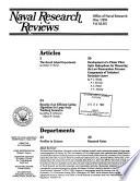 Naval Research Reviews Book