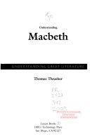 Understanding Macbeth
