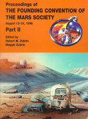 Proceedings of the Founding Convention of the Mars Society