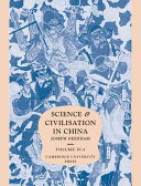 Science and Civilisation in China  Volume 4  Physics and Physical Technology  Part 3  Civil Engineering and Nautics