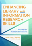 Enhancing Library And Information Research Skills Book PDF