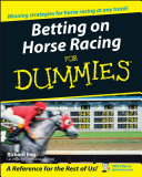 Pdf Betting on Horse Racing For Dummies Telecharger
