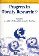 Proceedings of the 9th International Congress on Obesity