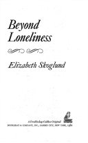 Beyond Loneliness Book