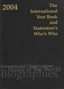 The International Year Book and Statesmen's