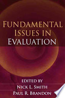 Fundamental Issues in Evaluation