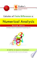 Calculus of Finite Difference & Numerical Analysis - Gupta & Malik