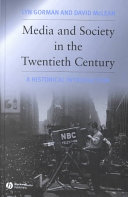 Cover of Media and Society in the Twentieth Century