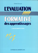 L'évaluation formative des apprentissages