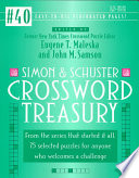 Simon and Schuster Crossword Treasury