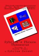 Sybrina s Phrase Thesaurus   Volume 4