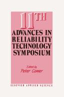 11th Advances in Reliability Technology Symposium Pdf/ePub eBook
