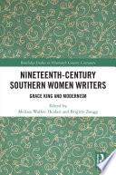 Nineteenth Century Southern Women Writers