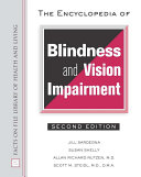 The Encyclopedia of Blindness and Vision Impairment ebook