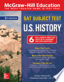 McGraw Hill Education SAT Subject Test U S  History  Fifth Edition