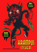 Krampus Sticker Collection: 100+ Reusable Stickers in Deluxe Tin