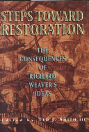 Steps Toward Restoration