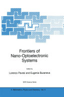 Frontiers of Nano-Optoelectronic Systems Pdf/ePub eBook