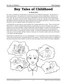 Pdf Roald Dahl Literature Activities--Boy Tales of Childhood