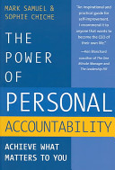 The Power Of Personal Accountability