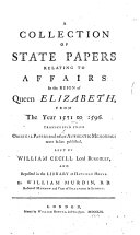 Collection of State Papers