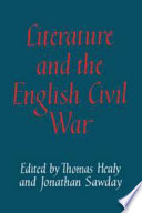 Literature And The English Civil War