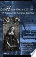 Major Women Writers of Seventeenth century England Book