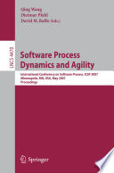 Software Process Dynamics and Agility