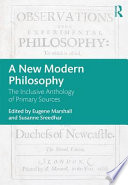 A New Modern Philosophy