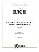 The Well Tempered Clavier  Book 1  Nos  1 8