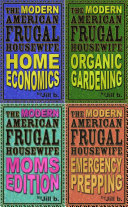 The Modern American Frugal Housewife Books  1 4  Complete Series