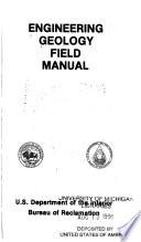 Engineering Geology Field Manual Book