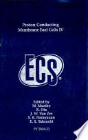 Proton Conducting Membrane Fuel Cells Iv Book PDF