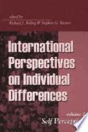 Self Perception Book PDF