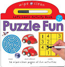 Wipe Clean Activity Puzzle Fun