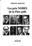 Les prix Nobel de la paix juifs