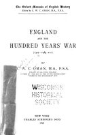 England And The Hundred Years War 1327 1485 A D