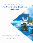 Chronicle Two Year College Databook Book
