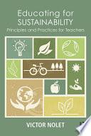 Educating for Sustainability