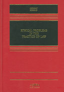 Ethical Problems in the Practice of Law Book