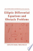 Elliptic Differential Equations And Obstacle Problems [Pdf/ePub] eBook