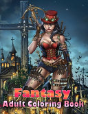 Fantasy Adult Coloring Book