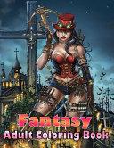 Fantasy Adult Coloring Book