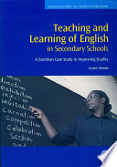 Teaching And Learning Of English In Secondary Schools