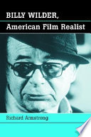 Billy Wilder  American Film Realist